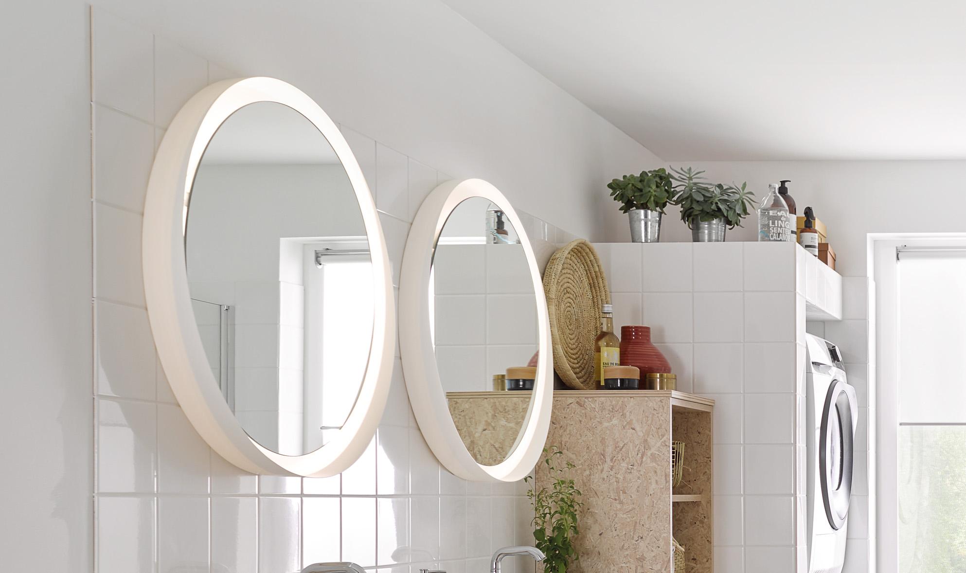 Round mirror MIR-CL720FL